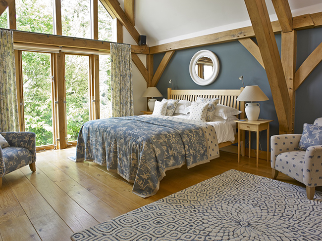 Bedroom: The Woodhouse Bedroom In Shades Of Denim Blue