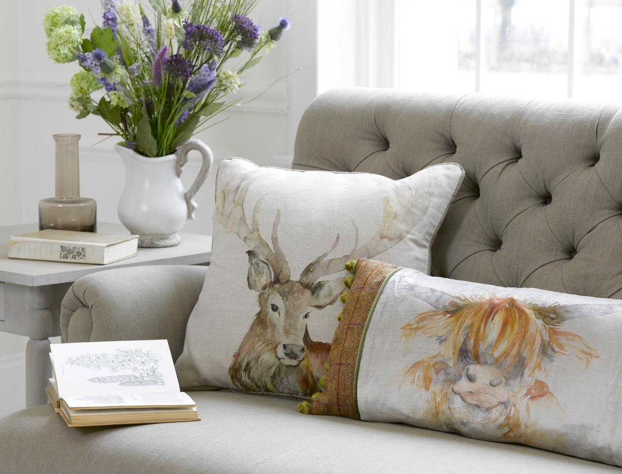 Animal magic for Au maison cushions uk