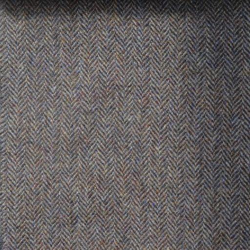 Basalt Herringbone - Tweed