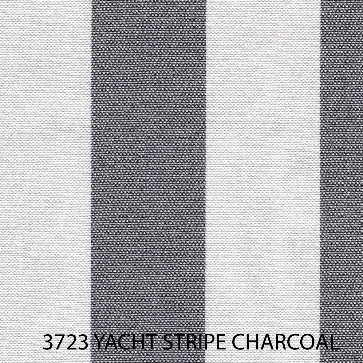 Yacht Stripe Charcoal