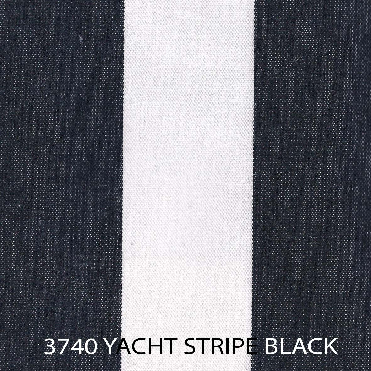 Yacht Stripe Black